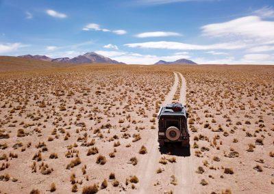 Lagunenroute, Bolivien