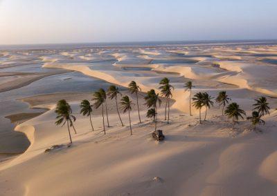 Nordküste Brasilien: Dünen und Lagunen, soweit das Auge reicht.