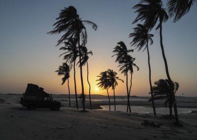 Sonnenuntergänge im Paradies.