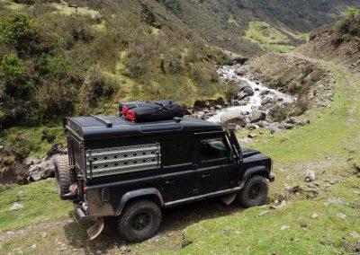Auf dem «Inkatrail» per Landy nach Machu Picchu