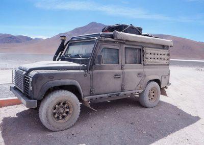 Lagunenroute, Bolivien – so schmutzig war er noch nie!