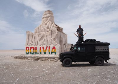 Beim Dakar-Monument