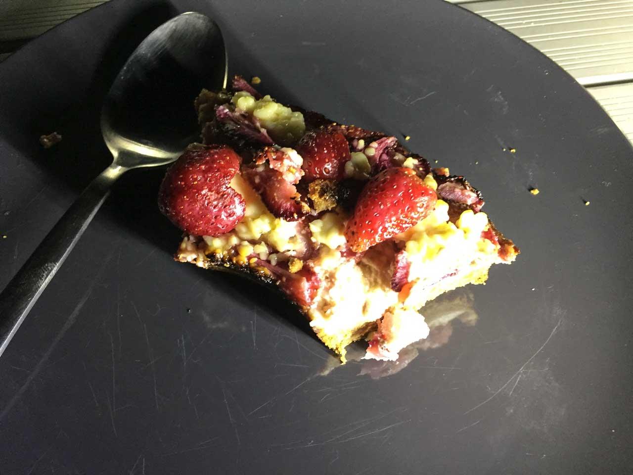 Erdbeer-Chesecake