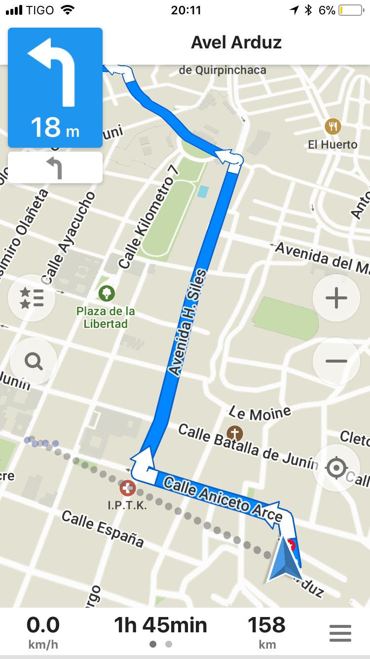 Strassennavigation