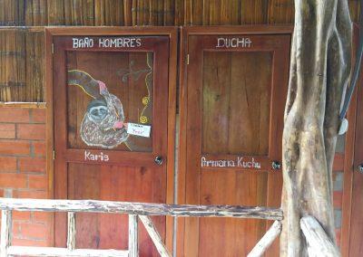 Nett verzierte Türen…