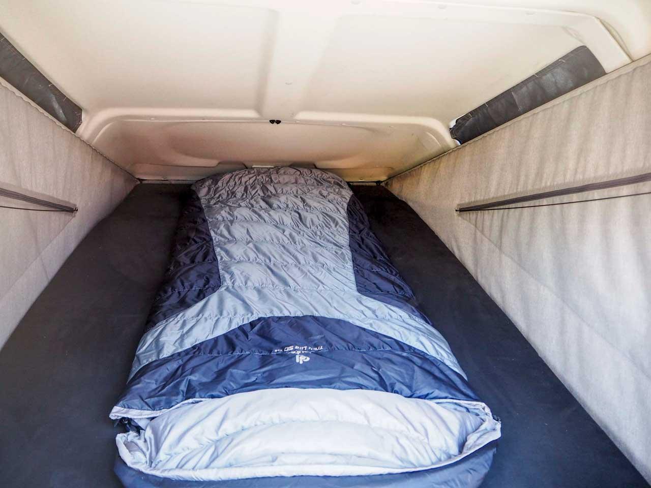 Der Schlafsack im Trekkingmodus
