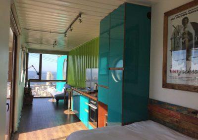 Das Zimmer im Container
