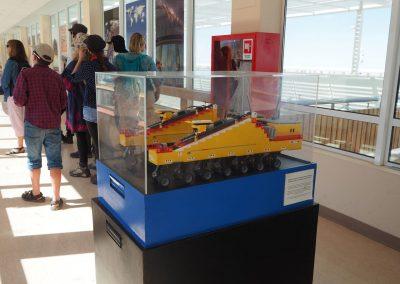 Mit diesem Lego-Modell wurde die Funktionsfähigkeit getestet.
