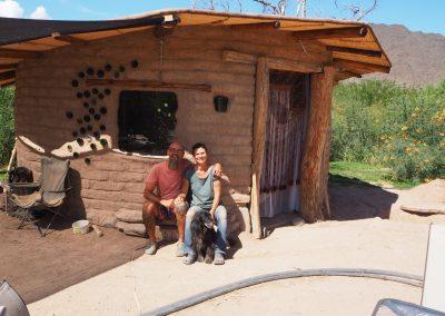 Die Besitzer – Johann und Martina – sind ehemalige Reisende.