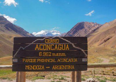 Wir besuchen den höchsten Berg in Südamerika.