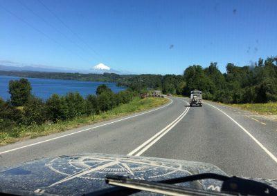 Auch die chilenische Seite kann mit schönen Seenlandschaften auftrumpfen.
