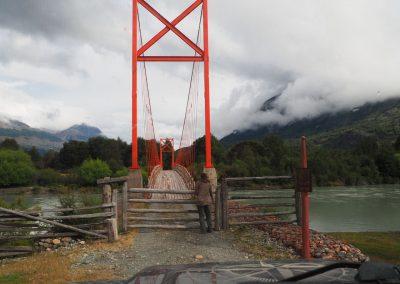 Was, über diese Brücke sollen wir fahren?!