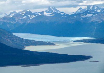 Von hier oben sieht man sogar den Perito Moreno Gletscher!