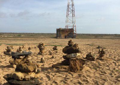 Am nördlichsten Punkt auf la Guajira: Punta Gallinas
