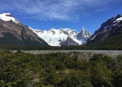 Dortin, zum Cerro Torre, wollen wir.