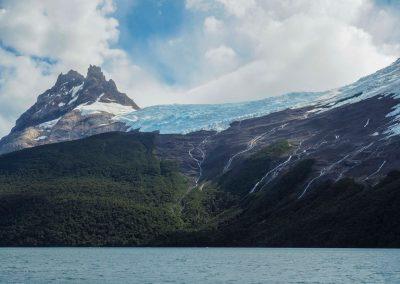 Und da kommt der nächste Gletscher in Sicht.