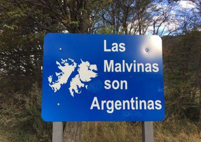 Ein wunder Punkt für die Argentinier. Wem gehören die Falklandinseln denn nun; den Engländern, oder?