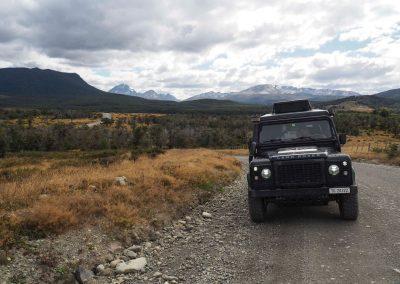 Wir machen uns auf den Weg an den südlichsten Punkt, der per Auto zu befahren ist.