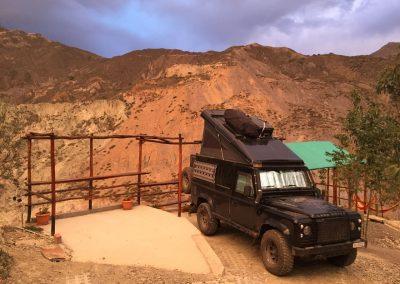 Der Camping Kolibri in La Paz ist eine Insel zum Verweilen.