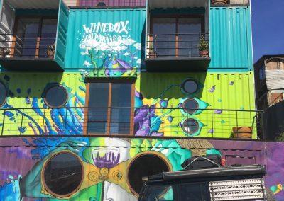In Valparaiso gönnten wir uns ein sehr spezielles Hotel.