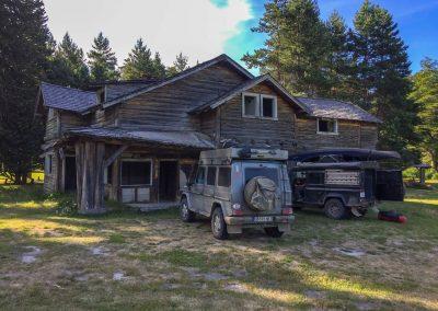 Nähe Bariloche, fanden wir auf einem verlassenen Grundstück…