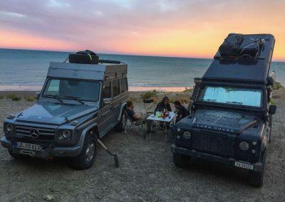Nochmals mit Babs und Horst an der Pazifikküste.