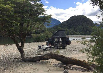 Dieses Idyllische Plätzchen direkt am Fluss, hatten wir ganz für uns alleine.