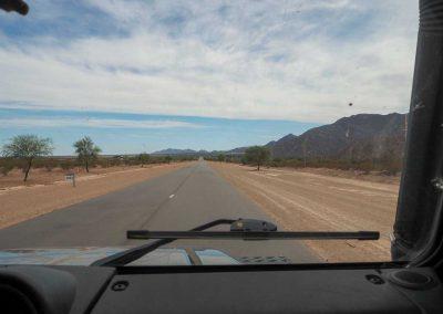 …und Wüste bzw. Pampa.