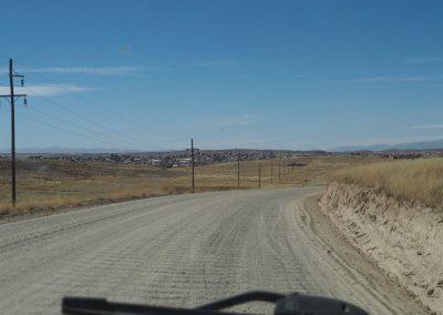 Hier in dieser Grenzstadt zu Bolivien endet die Quarenta.
