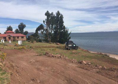 Bei der Familie von Valentin am Titicacasee…
