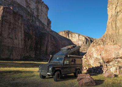 Ein toller Canyon, in der Nähe der RN40…