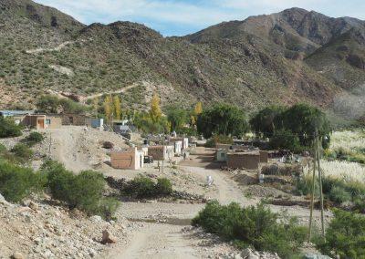 Am Ende des Tales erreichen wir das Dorf «Las Papas».