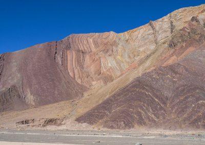 Da sind die farbigen Felsformationen schon einladender.