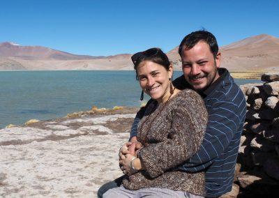 Wir fühlen uns wie auf der Lagunenroute in Bolivien.