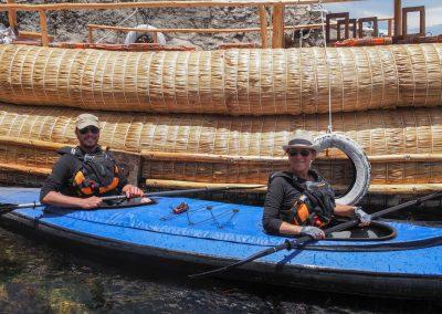 Paddeln auf den Titicacasee