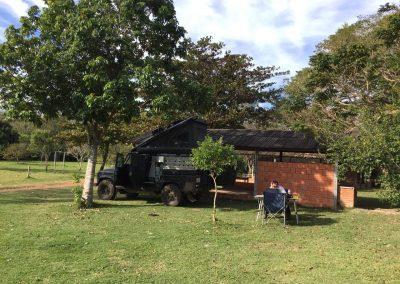 Im Pantanal auf dem Camping Seus Assis trafen wir auf Claudia und Martin aus der Schweiz.