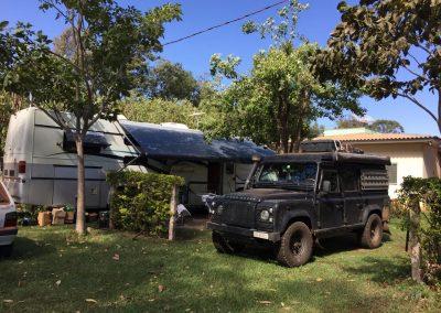 Ein schöner Camping in Bonito, Südpantanal