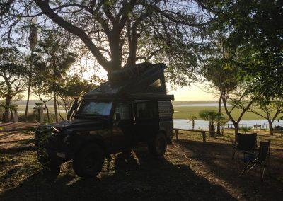 Letzte Nacht im Südpantanal, in Corumbà