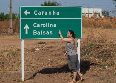 Bei der Stadt «Carolina»…