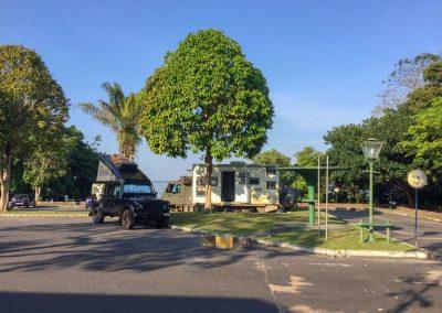 In Manaus dürfen wir beim 5-Sterne-Hotel für CHF 1.25 übernachten. Zusammen mit den «Zeitreise.de»