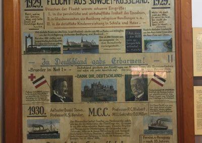 Im Museum in Filadelfia, erfahren wir viel über die Geschichte der Mennoniten.