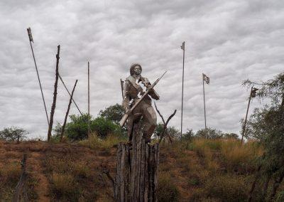 Der Chaco-Krieg dauerte von 1932 bis 1935.