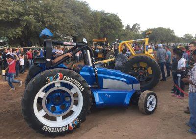 Eine andere Klasse von Traktoren – richtige Rennmaschinen