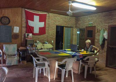 Turi lebt hier mit seiner Tochter Barbara und den Enkelinnen.