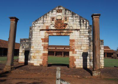 Die Mission San Cosme y Damian ist die kleinste Anlage der drei besuchten.