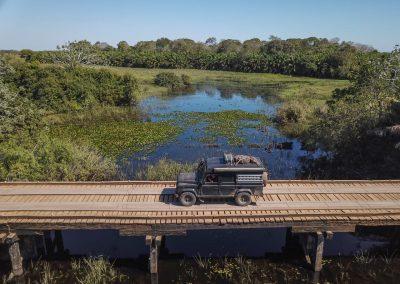 Wir erkundigen das Südpantanal.