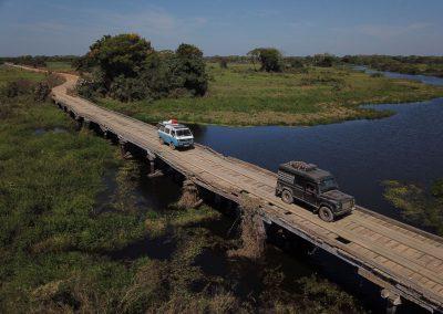 Um die 127 Brücken muss man auf der Transpantaneira überqueren.