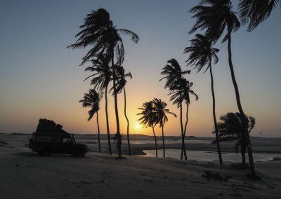 …und kitschige Sonnenuntergänge.