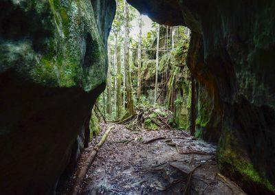 Wir erkundigen einige Höhlen.