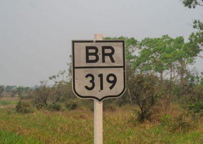 Und dann starten wir die legendäre BR319.